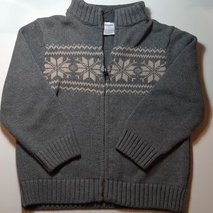 Gymboree zip down sweater